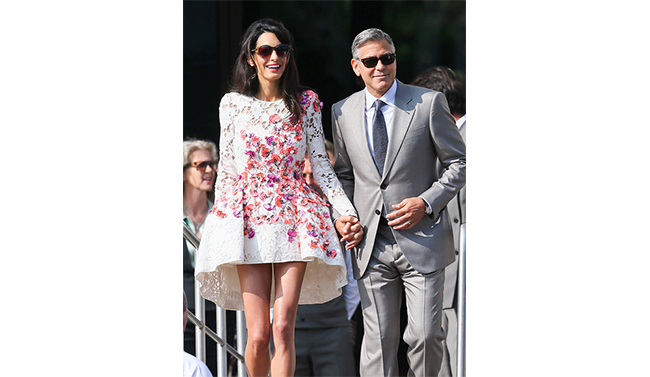 "Fresh Journalism: ""Internationally acclaimed barrister Amal Alamuddin marries an actor."""