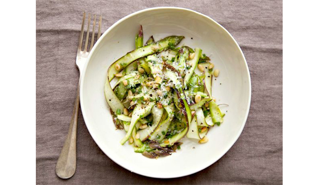 C+B Pantry: The Ribboned Asparagus Salad